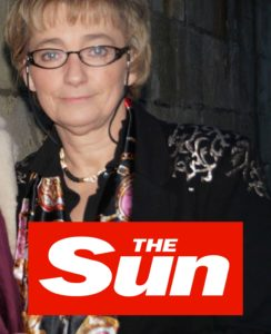 Christine Clayfield author of No Fourth River The Sun UK